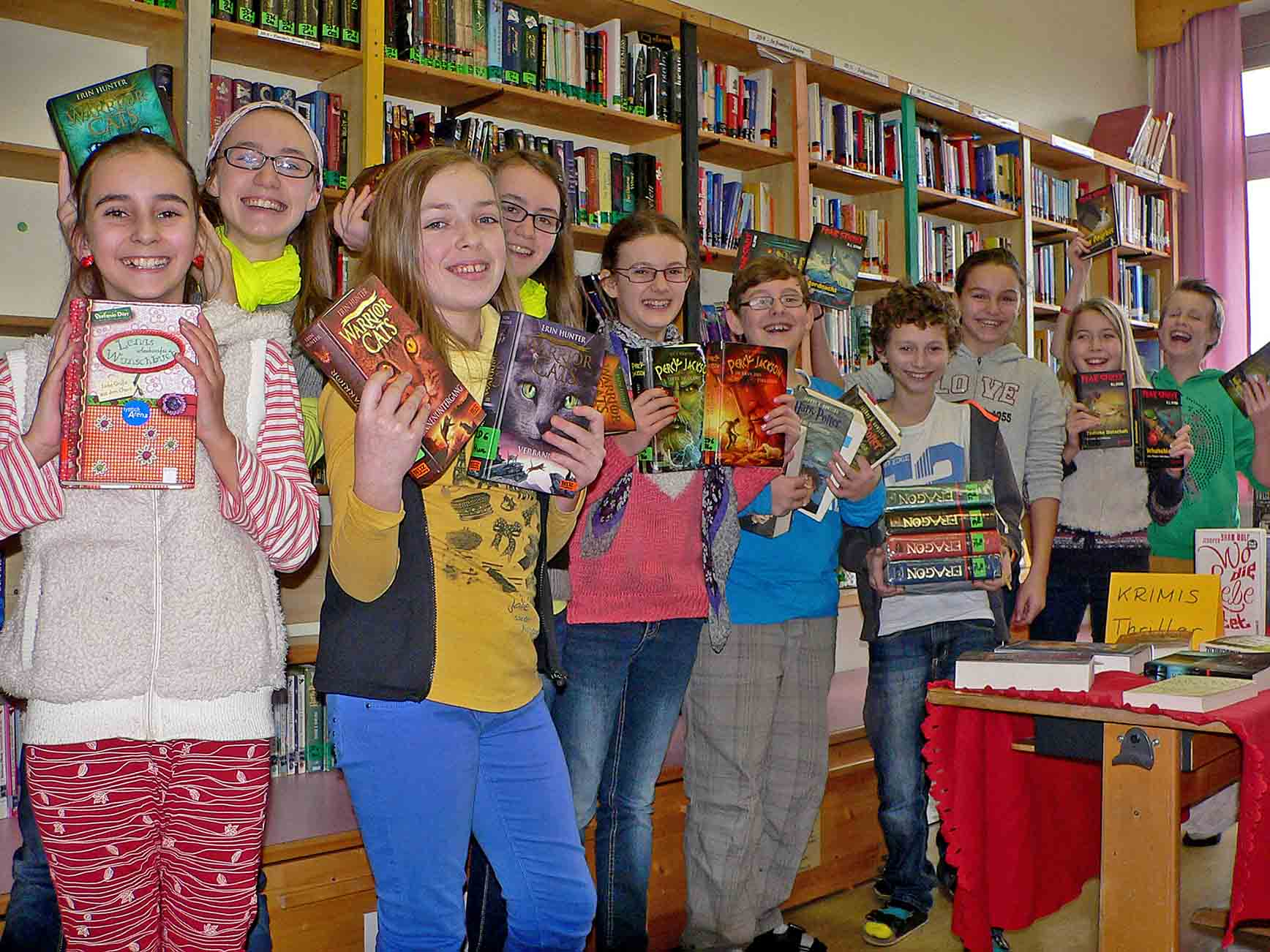 Schüler haben Lesewette gewonnen