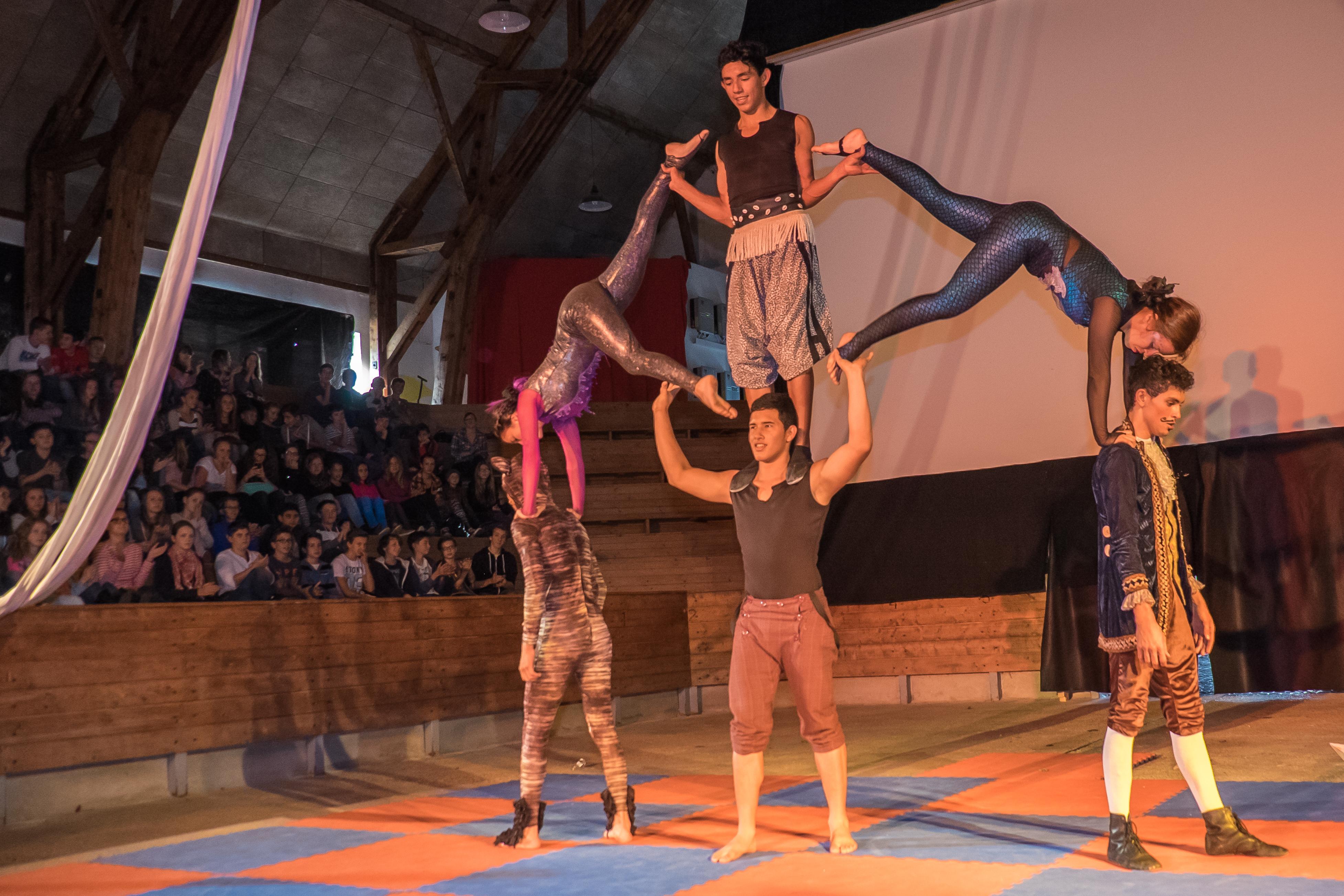 Circo FantazzTico begeisterte SchülerInnen