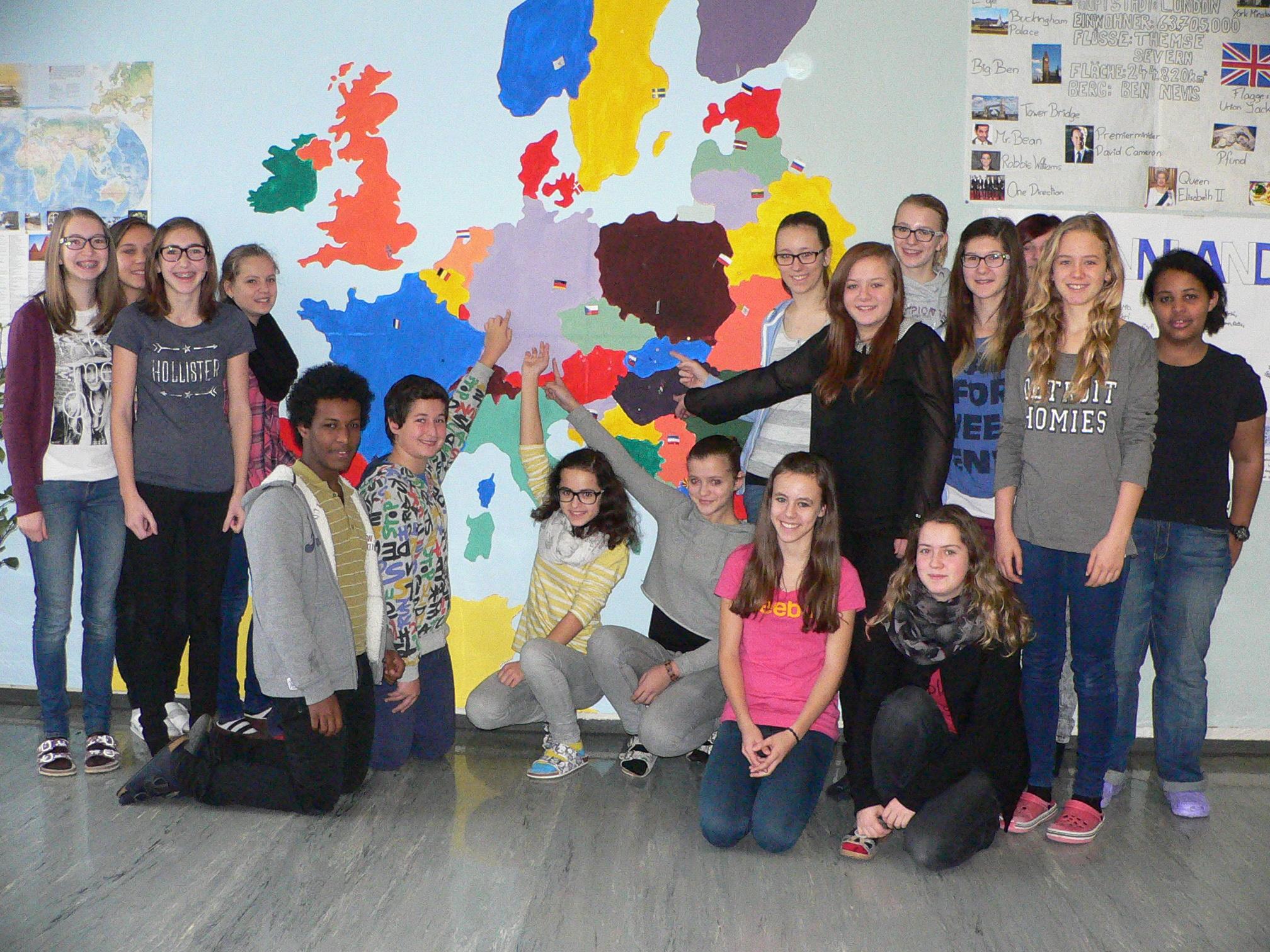 """Start des Erasmus+ Projektes """"ACT in Europe"""""""