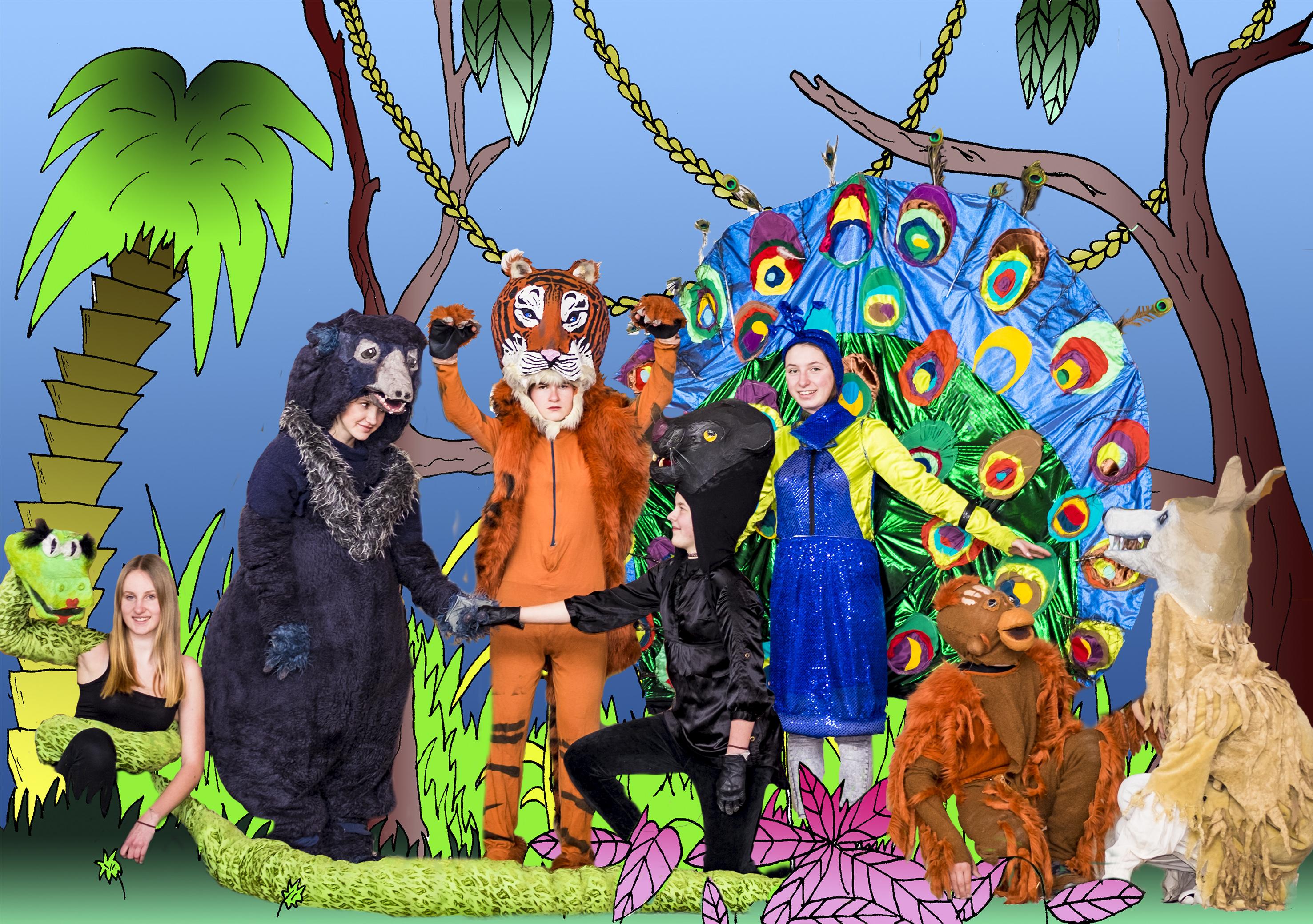 """Die Hauptrollen für das Musical """"Das Dschungelbuch"""" sind vergeben"""