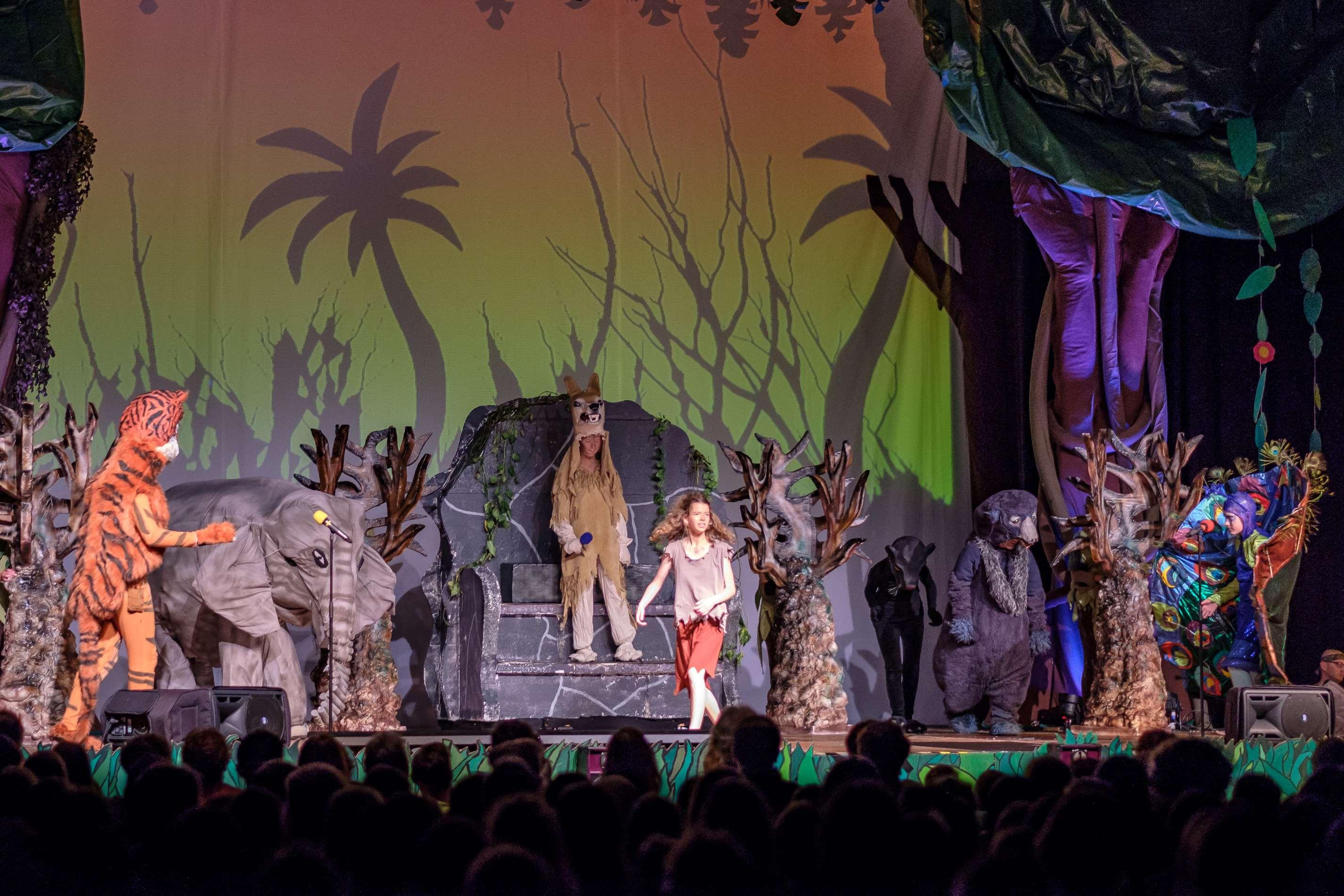 """Gelungene Premiere des Musicals """"Das Dschungelbuch"""""""
