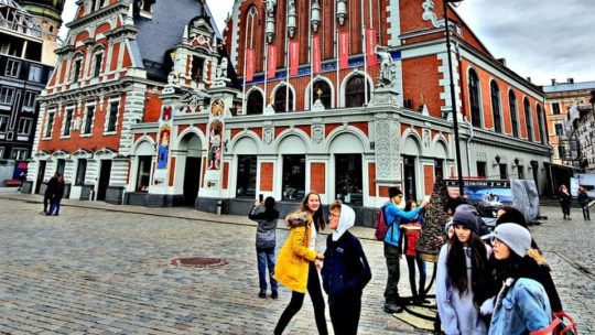 Zu Gast in Lettland
